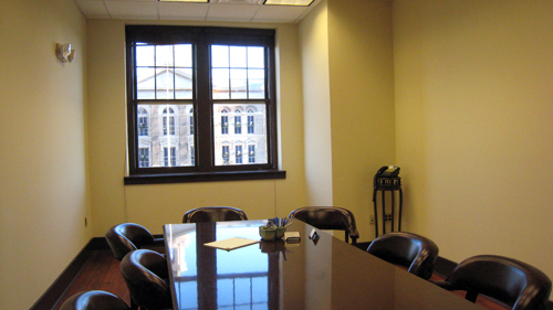 One of the Upstairs Conference Rooms